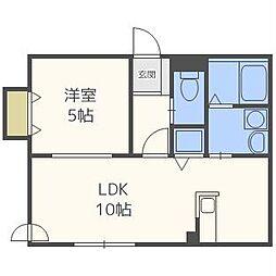 マイスター渋谷マンション[3階]の間取り
