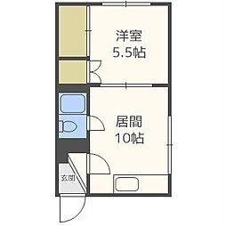 北海道札幌市北区北二十八条西5丁目の賃貸マンションの間取り
