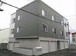 北海道札幌市白石区本通10丁目南の賃貸アパートの外観