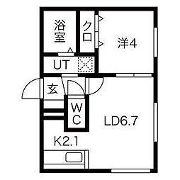 仮)栄通8丁目MS[4階]の間取り