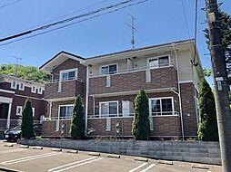 JR仙山線 葛岡駅 バス7分 折立小学校前下車 徒歩5分の賃貸アパート