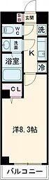JR中央線 西荻窪駅 徒歩5分の賃貸マンション 1階1Kの間取り