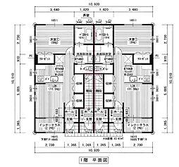 仙台市営南北線 泉中央駅 徒歩28分の賃貸アパート 1階1LDKの間取り
