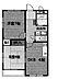間取り,2DK,面積51.57m2,賃料7.6万円,阪急京都本線 桂駅 徒歩12分,阪急京都本線 洛西口駅 徒歩18分,京都府京都市西京区川島野田町