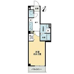 JR高徳線 昭和町駅 徒歩6分の賃貸アパート 1階1Kの間取り