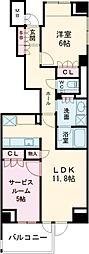 JR中央線 吉祥寺駅 徒歩7分の賃貸マンション 3階1SLDKの間取り