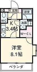 JR総武線 千葉駅 バス9分 貝塚下車 徒歩3分の賃貸マンション 1階1Kの間取り