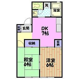 【敷金礼金0円!】日向台コーポ2