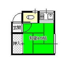 東山田駅 2.5万円