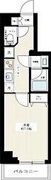 京急空港線 大鳥居駅 徒歩5分の賃貸マンション 1階1Kの間取り