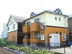 名鉄各務原線 新那加駅 バス14分 (ふ)東海学院大学南下車 徒歩7分の賃貸アパート