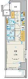 GENOVIA板橋本町駅前green veil 9階1Kの間取り