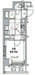 東武伊勢崎線 東向島駅 徒歩6分の賃貸マンション 3階1Kの間取り