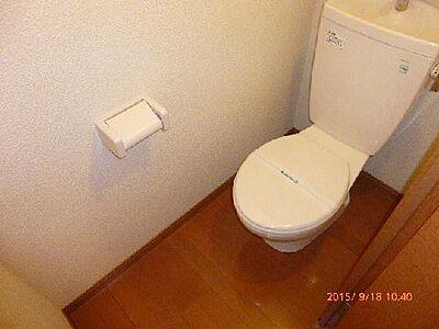 トイレ,1K,面積22.35m2,賃料3.4万円,JR東北本線 矢板駅 徒歩14分,,栃木県矢板市中2011-3