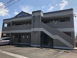 JR高山本線 岐阜駅 バス15分 佐兵衛新田下車 徒歩3分の賃貸アパート