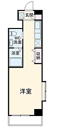JR総武線 新小岩駅 徒歩20分の賃貸マンション 4階1Kの間取り
