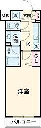 東武東上線 上板橋駅 徒歩9分の賃貸マンション 3階1Kの間取り