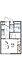間取り,1K,面積19.87m2,賃料3.2万円,東武伊勢崎線 足利市駅 徒歩16分,,栃木県足利市朝倉町2丁目2-19
