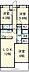 間取り,3LDK,面積64.14m2,賃料11.5万円,東武東上線 東武練馬駅 徒歩13分,東武東上線 下赤塚駅 徒歩19分,東京都板橋区徳丸5丁目