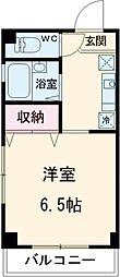 京成本線 堀切菖蒲園駅 徒歩5分の賃貸アパート 2階1Kの間取り