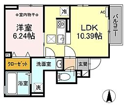 東武伊勢崎線 竹ノ塚駅 徒歩25分の賃貸アパート