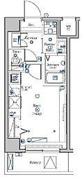 JR京浜東北・根岸線 西川口駅 徒歩7分の賃貸マンション 2階ワンルームの間取り