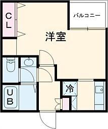 (仮称)赤塚2丁目新 3階1Kの間取り