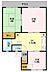 間取り,3DK,面積53.6m2,賃料5.0万円,東武野田線 六実駅 徒歩14分,,千葉県松戸市六高台3丁目