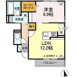 (仮)D-room鹿沼 B