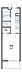 間取り,1K,面積20.81m2,賃料6.5万円,西武池袋線 練馬高野台駅 徒歩9分,,東京都練馬区南田中3丁目17-7