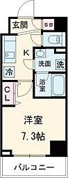 JR京浜東北・根岸線 赤羽駅 徒歩14分の賃貸マンション 11階1Kの間取り