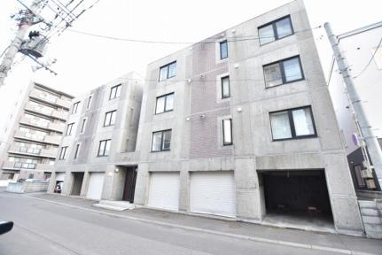 北海道札幌市北区北三十二条西4丁目の賃貸マンションの外観