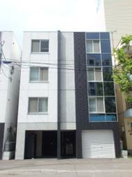 北海道札幌市北区北十七条西5丁目の賃貸マンションの外観