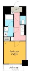 ガイドウェイバス志段味線 大曽根駅 徒歩2分の賃貸マンション 5階1Kの間取り