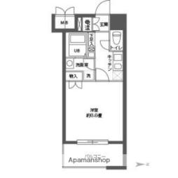 Osaka Metro中央線 高井田駅 徒歩11分の賃貸マンション 3階ワンルームの間取り