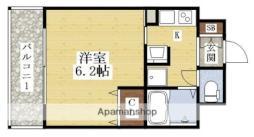 エステムコート新大阪VIエキスプレイス 12階1Kの間取り
