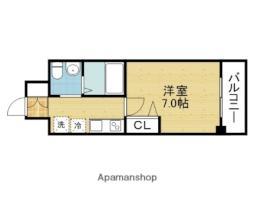 Osaka Metro千日前線 北巽駅 徒歩9分の賃貸マンション 10階1Kの間取り