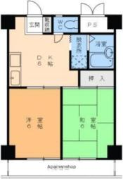 高砂町駅 4.4万円