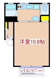 JR日豊本線 隼人駅 徒歩24分の賃貸アパート 1階1Kの間取り